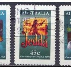 Sellos: SELLOS ADESIVOS USADOS DE AUSTRALIA YT 1445/ 49. Lote 198545833