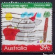 Sellos: AUSTRALIA NAVIDAD SELLO USADO. Lote 199474495