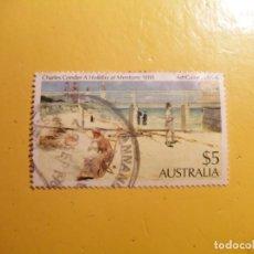 Sellos: AUSTRALIA - CHARLES CONDER 1988.. Lote 205544013