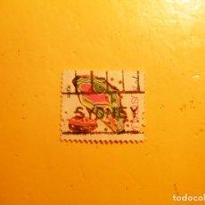 Sellos: AUSTRALIA - SYIDNEY - AGATE.. Lote 205544353