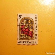 Sellos: AUSTRALIA - NAVIDADES 1969 - CHRISTMAS 1969.. Lote 205544560