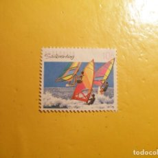 Sellos: AUSTRALIA - DEPORTES DE AGUA -SNOWBOARD.. Lote 205544622