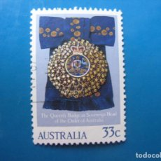 Sellos: +AUSTRALIA 1985, ANIVERSARIO DE ISABEL II, YVERT 904. Lote 205577563