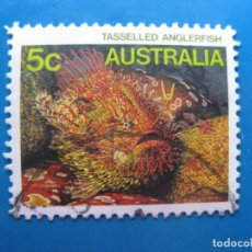 Sellos: +AUSTRALIA 1985, FAUNA MARINA, YVERT 911. Lote 205579285