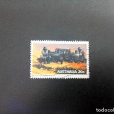 Timbres: AUSTRALIA - 1979, LOCOMOTORAS, YT 662. Lote 205681665
