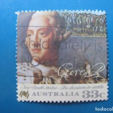 Sellos: +AUSTRALIA 1986, BICENTENARIO DE LOS PRIMEROS COLONOS, YVERT 960. Lote 205848491