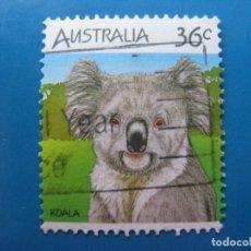 Sellos: +AUSTRALIA 1986, FAUNA AUSTRALIANA, KOALA. Lote 206153145