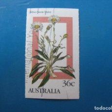 Sellos: +AUSTRALIA 1968, PLANTAS ALPINAS, YVERT 972. Lote 206154736