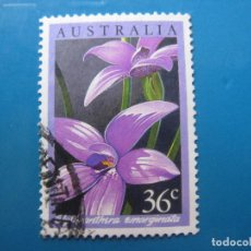 Sellos: +AUSTRALIA 1986, ORQUIDEAS AUSTRALIANAS, YVERT 973. Lote 206154871