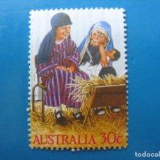 Sellos: +AUSTRALIA 1986, NAVIDAD, YVERT 981. Lote 206156820