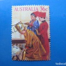 Sellos: +AUSTRALIA 1986, NAVIDAD, YVERT 982. Lote 206157132
