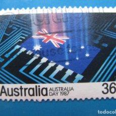 Sellos: +AUSTRALIA 1987, DIA NACIONAL, YVERT 984. Lote 206157406