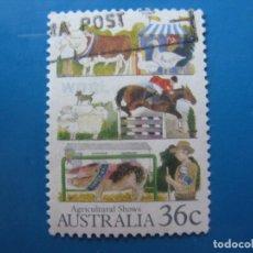 Sellos: +AUSTRALIA 1987, AGRICULTURA AUSTRALIANA, YVERT 994. Lote 206158135