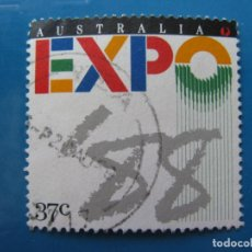 Sellos: +AUSTRALIA 1988, EXPO88, YVERT 1083. Lote 206223311