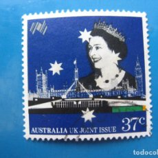 Sellos: +AUSTRALIA 1988, BICENTENARIO DE LOS PRIMEROS COLONOS, YVERT 1086. Lote 206224140