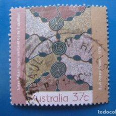 Sellos: +AUSTRALIA 1988, ARTE, YVERT 1090. Lote 206224812