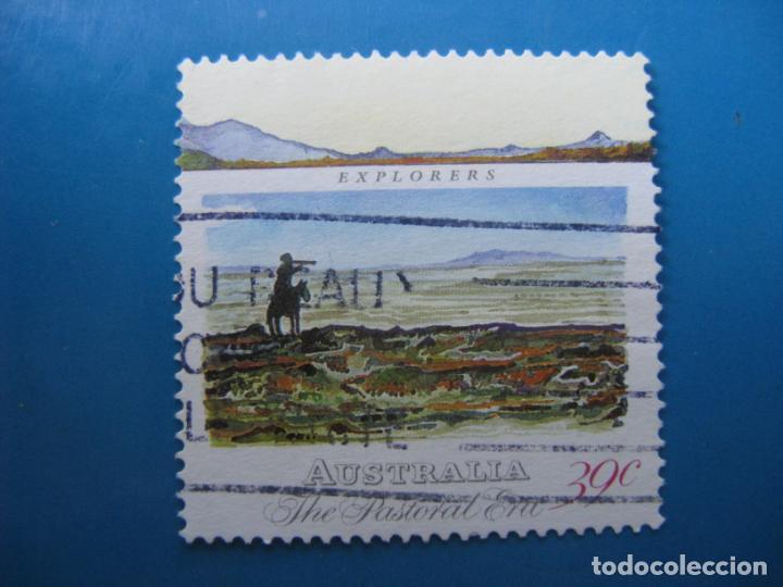 +AUSTRALIA 1989, DESARROLLO COLONIAL, YVERT 1117 (Sellos - Extranjero - Oceanía - Australia)