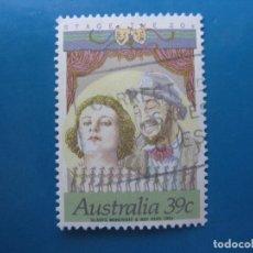 Sellos: +AUSTRALIA 1989, ACTORES DE CINE Y TEATRO AUSTRALIANOS, YVERT 1118. Lote 206381113