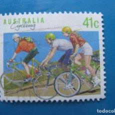 Sellos: +AUSTRALIA 1989, DEPORTES, YVERT 1126. Lote 206382027