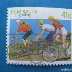 Sellos: +AUSTRALIA 1989, DEPORTES, YVERT 1126. Lote 206382160
