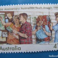 Sellos: +AUSTRALIA 1989, 50 ANIV. ALBERGUES JUVENILES, YVERT 1127. Lote 206382667