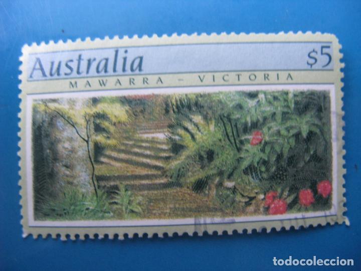 +AUSTRALIA 1989, JARDINES DE AUSTRALIA, YVERT 1129 (Sellos - Extranjero - Oceanía - Australia)