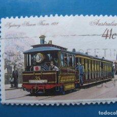 Sellos: +AUSTRALIA 1989, TRANVIAS HISTORICOS, YVERT 1132. Lote 206383672