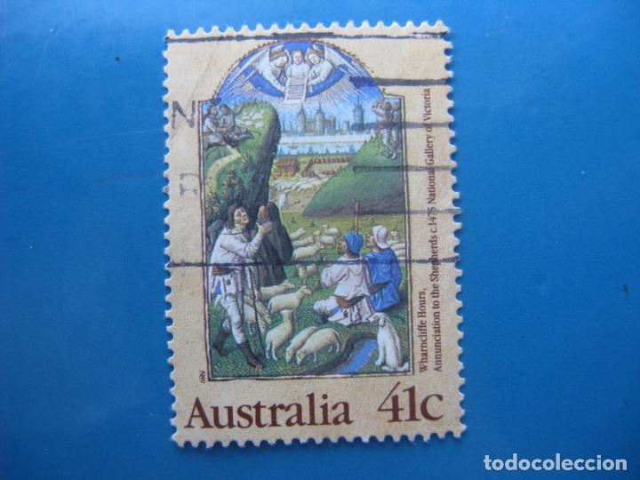 +AUSTRALIA 1989, NAVIDAD, YVERT 1136 (Sellos - Extranjero - Oceanía - Australia)