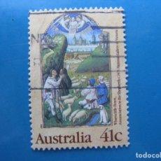 Sellos: +AUSTRALIA 1989, NAVIDAD, YVERT 1136. Lote 206384878