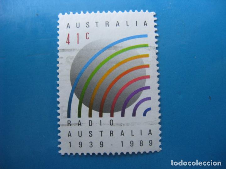 +AUSTRALIA 1989, 50 ANIV. DE LA RADIO AUSTRALIANA, YVERT 1138 (Sellos - Extranjero - Oceanía - Australia)