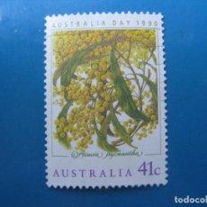 Sellos: +AUSTRALIA 1990, DIA NACIONAL, YVERT 1139. Lote 206385522