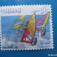 Sellos: +AUSTRALIA 1990, DEPORTES, YVERT 1141. Lote 206386108