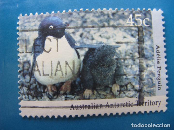 +AUSTRALIA, TERRITORIO ANTARTICO, 1992, FAUNA ANTARTICA, YVERT 90 (Sellos - Extranjero - Oceanía - Australia)
