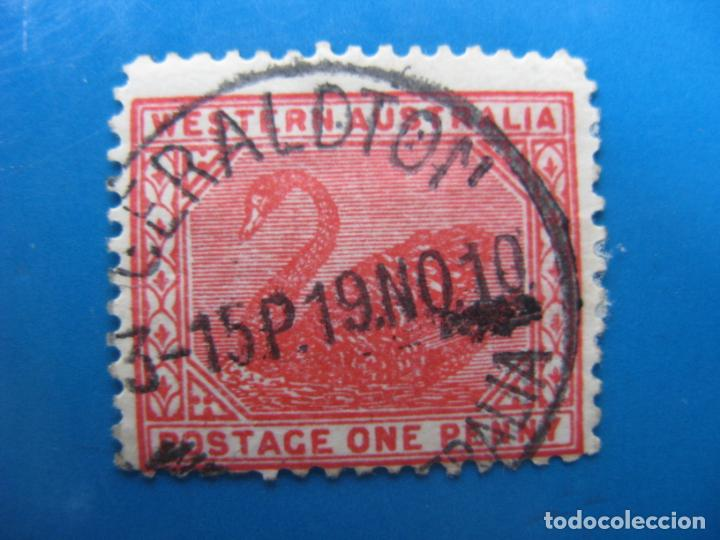 +AUSTRALIA OCCIDENTAL 1885, YVERT 43 (Sellos - Extranjero - Oceanía - Australia)