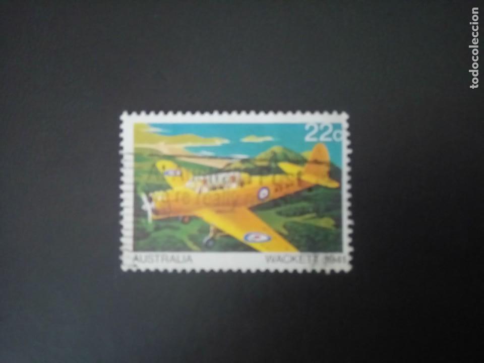 AUSTRALIA 1981, AVIONES, WACKETT 1941, YT 722 (Sellos - Extranjero - Oceanía - Australia)