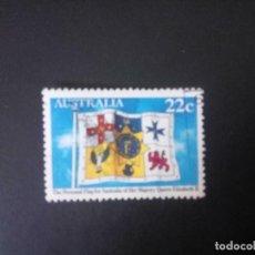 Sellos: AUSTRALIA 1981, ANIVERSARIO DE LA REINA, YT 734. Lote 207285030
