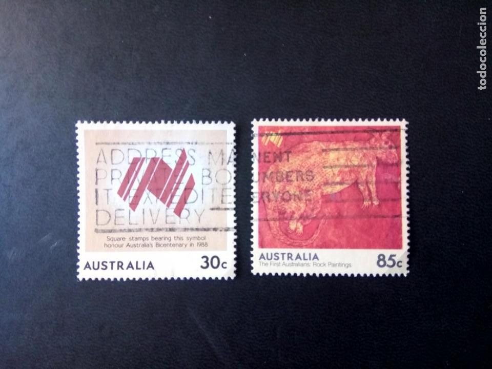 AUSTRALIA - 1984, BICENTENARIO, YT 880,887 (Sellos - Extranjero - Oceanía - Australia)