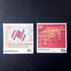 Sellos: AUSTRALIA - 1984, BICENTENARIO, YT 880,887. Lote 208576241