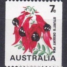 Sellos: AUSTRALIA 1971 - FLORES - YVERT Nº 448**. Lote 209402843