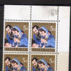 Sellos: AUSTRALIA 1965 MNH, BLOQUE MICHEL 357. Lote 209913920