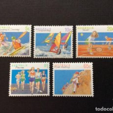 Sellos: AUSTRALIA Nº YVERT 1140/4** AÑO 1990. DEPORTES (III). SERIE CON CHARNELA. Lote 209976601
