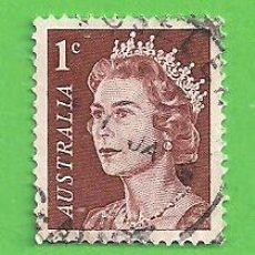 Sellos: AUSTRALIA - MICHEL 358A - YVERT 319 - ISABEL II. (1966).. Lote 209997725