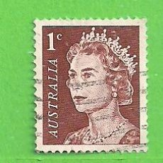 Sellos: AUSTRALIA - MICHEL 358A - YVERT 319 - ISABEL II. (1966).. Lote 209998055