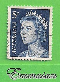 AUSTRALIA - MICHEL 391A - YVERT 323 - ISABEL II. (1967). (Sellos - Extranjero - Oceanía - Australia)