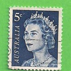 Sellos: AUSTRALIA - MICHEL 391A - YVERT 323 - ISABEL II. (1967).. Lote 210000277