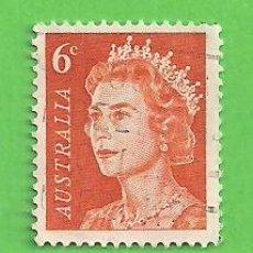 Sellos: AUSTRALIA - MICHEL 450 - YVERT 323B - ISABEL II. (1970).. Lote 210001657