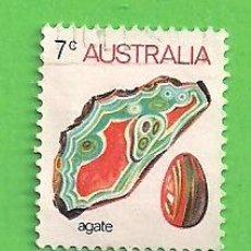 Sellos: AUSTRALIA - MICHEL 531I - YVERT 504 - FAUNA MARINA Y MINERALES. (1973).. Lote 210002475