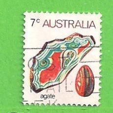 Sellos: AUSTRALIA - MICHEL 531I - YVERT 504 - FAUNA MARINA Y MINERALES. (1973).. Lote 210002546