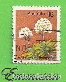 AUSTRALIA - MICHEL 591 - YVERT 576 - PLANTAS - PLUMA DEL PRÍNCIPE. (1975). (Sellos - Extranjero - Oceanía - Australia)