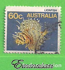 AUSTRALIA - MICHEL 975 - YVERT 951 - FAUNA MARINA. (1986). (Sellos - Extranjero - Oceanía - Australia)